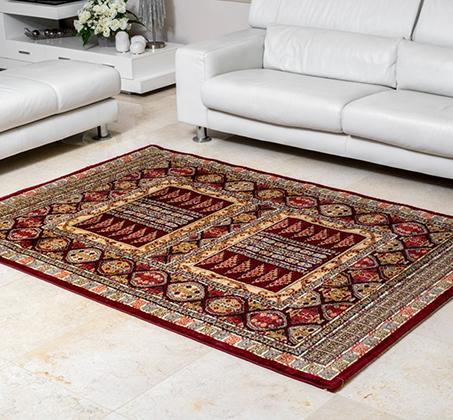 שטיח קילים עשוי מ - 100% סיבי היטסט הניתנים לניקוי בקלות בדוגמאות אתניות וקלאסיות לבחירה - תמונה 2