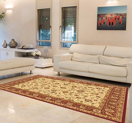 שטיח קילים עשוי מ - 100% סיבי היטסט הניתנים לניקוי בקלות בדוגמאות אתניות וקלאסיות לבחירה - תמונה 4