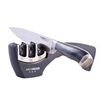 משחיז סכינים תלת ראשי מבית Arcosteel