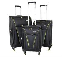 סט 3 מזוודות בד דגם Brooklin מבית Calpak