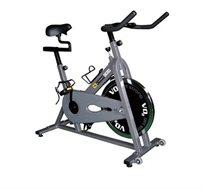 אופני ספינינג איכותיות ENERGYM דגם S-Cardio120 עם מצמד להתאמה בין מספר דרגות הקושי
