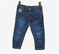 ג'ינס משופשף לתינוקות- בצבע כחול