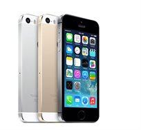 """סמארטפון iPhone 5S זיכרון 16GB מסך """"4.0 מעבד 2 ליבות מצלמה 8MP"""