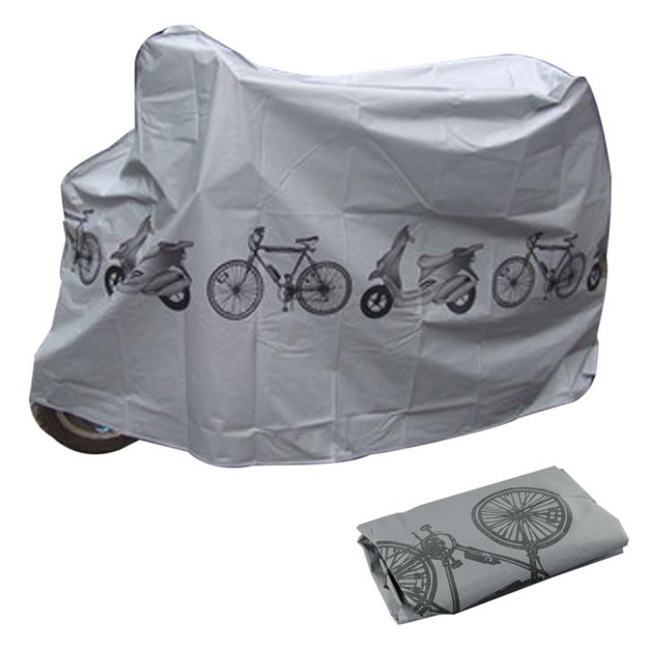 כיסוי חיצוני לדו גלגלי מתאים לרוב סוגי האופניים והקטנועים