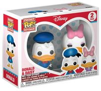Funko Pop - Donald & Daisy (Disney) Keychain  בובת פופ