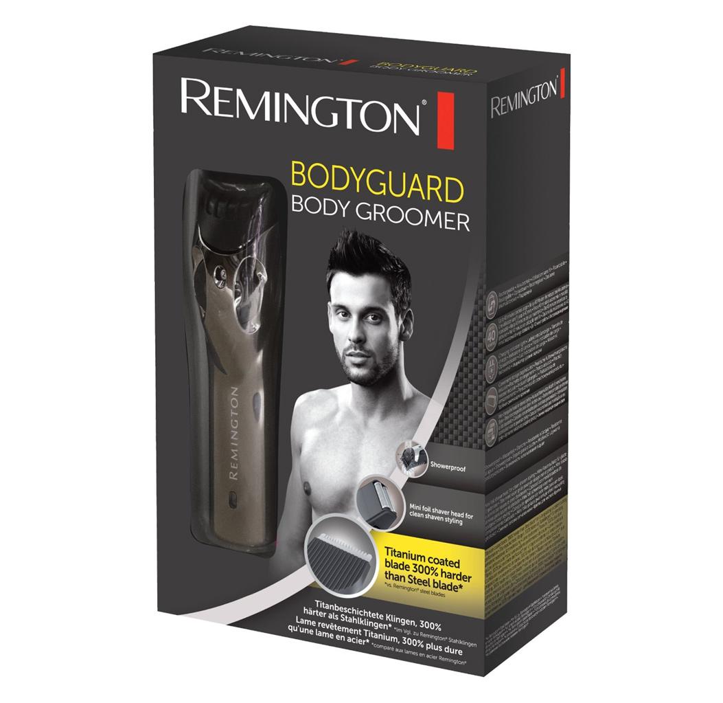 מכשיר ייחודי להסרת שיער לגבר Remington דגם BHT2000A - משלוח חינם - תמונה 4