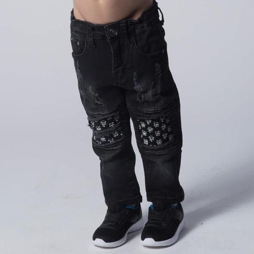 Oro ג'ינס פאטצ' גולגולות (16-1 שנים)