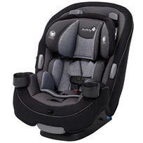 כסא בטיחות משולב בוסטר 3 ב 1 Grow & Go - שחור/אפור