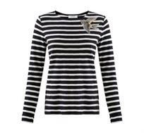חולצת מלחים מעוטרת בקישוט ציפור Promod לנשים - צבע לבחירה