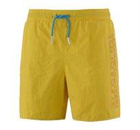 בגד ים Napapijri לגברים בצבע צהוב