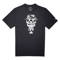 Converse גברים// חולצה גולגלת שחורה