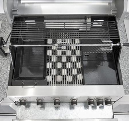 מטבח חוץ מושלם ואיכותי של חברת DCHEF כולל גריל גז איכותי, שיש, כירת גז עוצמתית, כיור וארוניות אחסון - תמונה 5