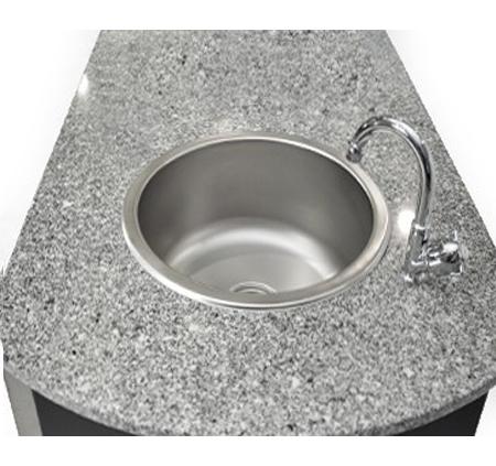 מטבח חוץ מושלם ואיכותי של חברת DCHEF כולל גריל גז איכותי, שיש, כירת גז עוצמתית, כיור וארוניות אחסון - תמונה 3