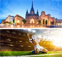 טיול מאורגן לברצלונה וקוסטה ברווה ל-5 ימים כולל כרטיס למשחק כדורגל של ברצלונה רק בכ-$420* לאדם!