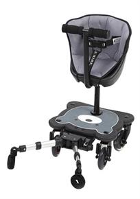 טרמפיסט עם מושב מרופד לעגלה וגלגלים מאירים Cozy4 Lights