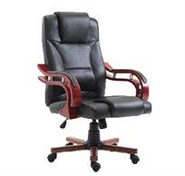 כסא מנהל אורתופדי דמוי עור בעל מבנה ארגונומי ומנגנון הגבהה TAKE IT