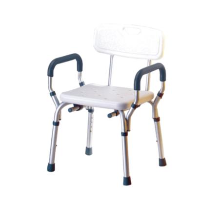 כסא טלסקופי מאלומיניום עם ידיות