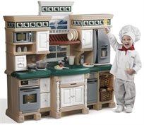 מטבח לילדים דגם לייף סטייל דלוקס עם 39 אביזרי משחק 7248