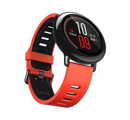 שעון חכם דגם Amazfit PACE צבע אדום