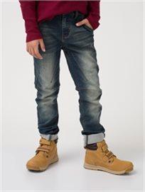 מכנס גינס סטרצי כחול