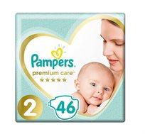 מארז 4 חבילות חיתולים Pampers Premium מידה 2 ו-6 לבחירה