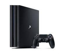 קונסולה Sony Playstaion 4 Pro בנפח 1TB תמיכה בתצוגת 4K כולל שלט וכבל HDMI + מטען שלטים מתנה