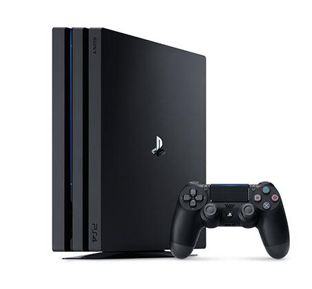 קונסולה Playstaion 4 Pro בנפח 1TB תמיכה ב 4K + מטען שלטים מתנה