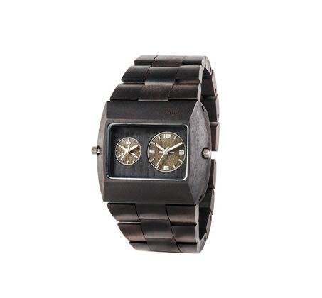 שעון עץ איטלקי Jupiter Black Gold TL