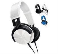אוזניות PHILIPS דגם SHL3000 עם כבל 1.2 מטר, קלות משקל עם כריות ייחודיות לנוחות מירבית לאורך זמן
