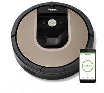 שואב הרובוטי 966 iRobot roomba עם אפשרות לתכנות יומי באמצעות אפליקציה-משלוח חינם