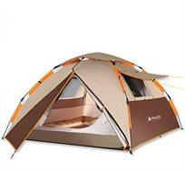 אוהל מודולרי Otentik קמפינג 140X220X220 עם פתיחה מהירה לעד 3 אנשים