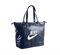 תיק צד ספורטיבי לנשים Nike דגם Heritage בצבע כחול נייבי - משלוח חינם!