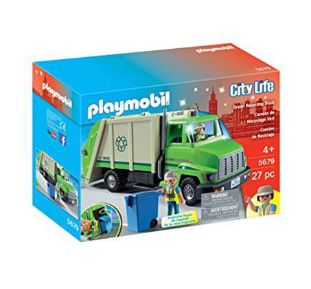משאית זבל - משחק לילדים
