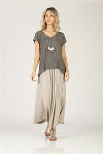 חצאית כותנה  כאמל - CUBiCA