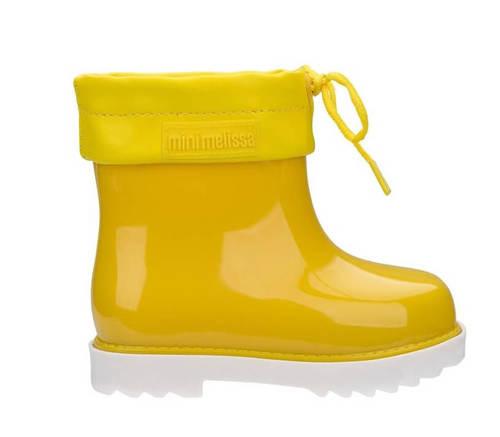 מיני מליסה מגפי גשם Mini Melissa Rain Boot Yellow