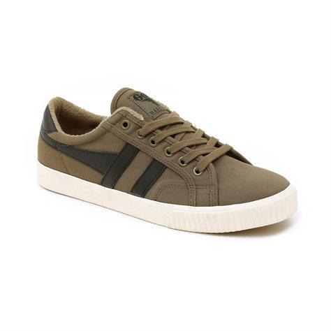 Gola Tennis Mark Cox Cma280 - נעלי סניקרס טניס טרנדיות בצבע חאקישחור