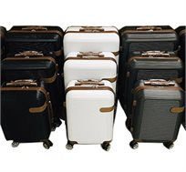 סט מזוודות קשיחות 3 גדלים - צבע לבחירה