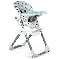 כסא אוכל מפואר לתינוק Mimzy Lx עם 3 מגשים וריפוד כפול - Ned & Gilbert