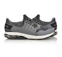 נעלי ריצה מקצועיות לגברים Li Ning Arc Shock Absorber בצבע אפור