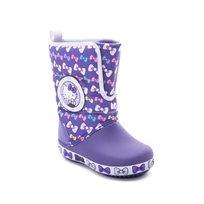 Crocs Hello Kitty Gust Boot - מגפי הלו קיטי לילדות בצבע סגול
