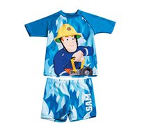 סט בגד ים סמי הכבאי לילדים - כחול