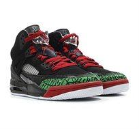 נעלי כדורסל אייר גורדן לנוער NIKE AIR JORDAN 317321-026 - שחור/ירוק/אדום