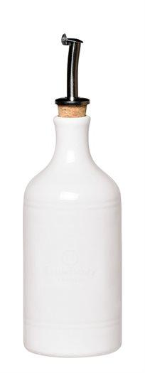 בקבוק לשמן או חומץ עשוי קרמיקה איכותית מאדמת חבל בורגונדי בצרפת, תוצרת Emile Henry - משלוח חינם