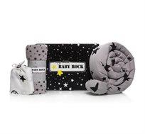 חבילת לידה + מארז ניו בורן דובי הכוללים נחשוש, שמיכה, בגד גוף ומכנס