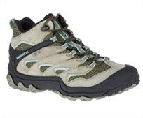 נעלי הליכה וטיולים נשים Merrell מירל דגם CHAM 7 LIMIT MID WTPF