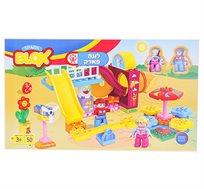 אבני הרכבה צבעוניות לילדים דגם לונה פארק