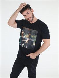 חולצה קלווין קליין שחורה לגברים