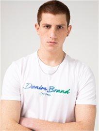 חולצה מודפסת DENIM_BRAND