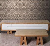 סט סלוני מזנון ושולחן VITORIO DIVANI דגם רומאנס