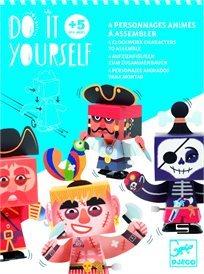 סדרת Do It Yourself - ווינד-אפ פיראטים- Djeco